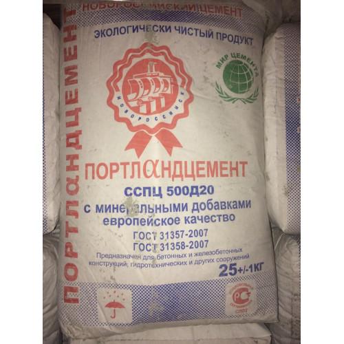 Цемент (ЦЕМ II/А-П 42.5Н) (Фас.25кг)