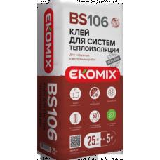 EKOMIX Клей для систем теплоизоляциии  BS 106 25кг