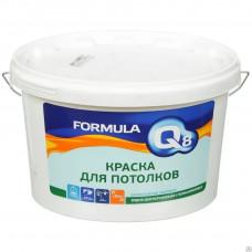 Краска ФОРМУЛА Q8 ВД-АК  для потолков 13 кг