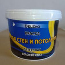 Краска ВД BelEko д/стен и потолков  14 кг