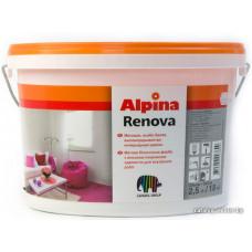 Краска Alpina Expert Renova объектная интерьерная, 2.5 л