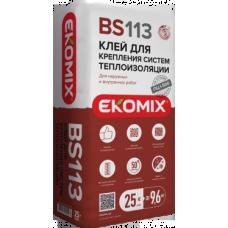 EKOMIX Клей для крепления систем теплоизоляции BS 113