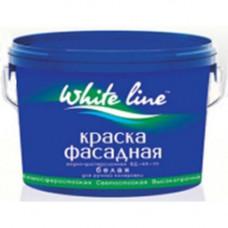 Краска фасадная белоснежная BASE A White line   7 кг